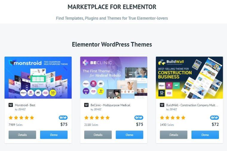 elemrntor marketplace