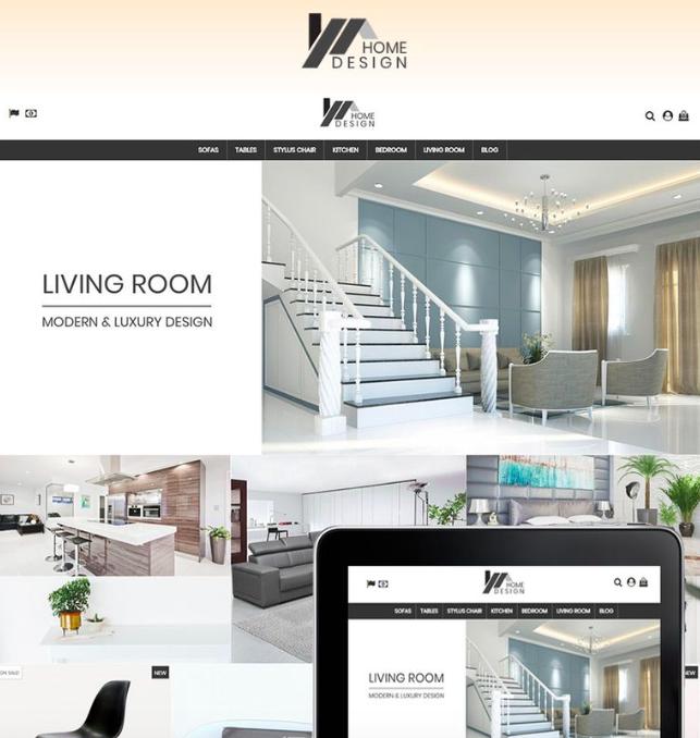 Home Design PrestaShop Theme