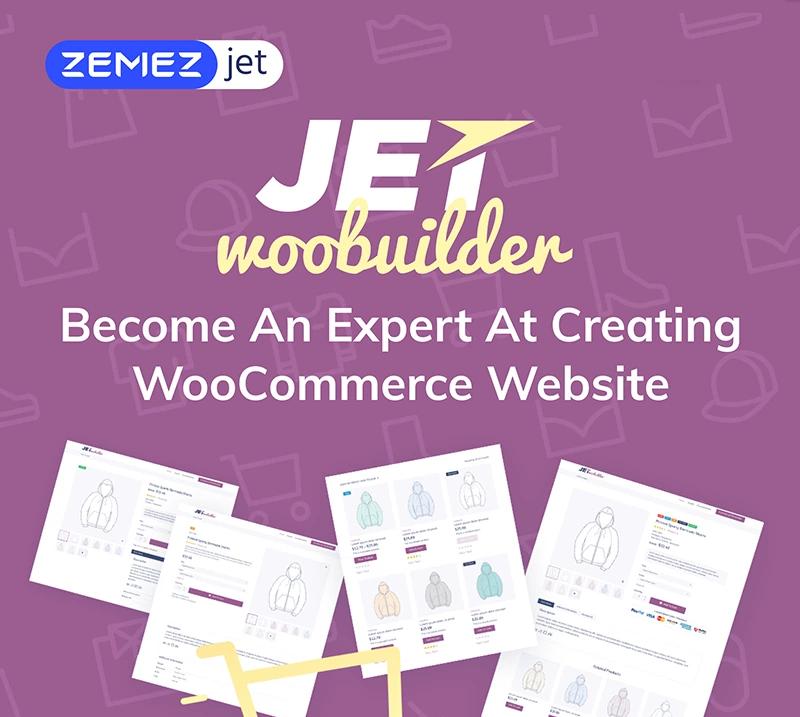 JetWooBuilder - WooCommerce Page Builder Addon for Elementor WordPress Plugin