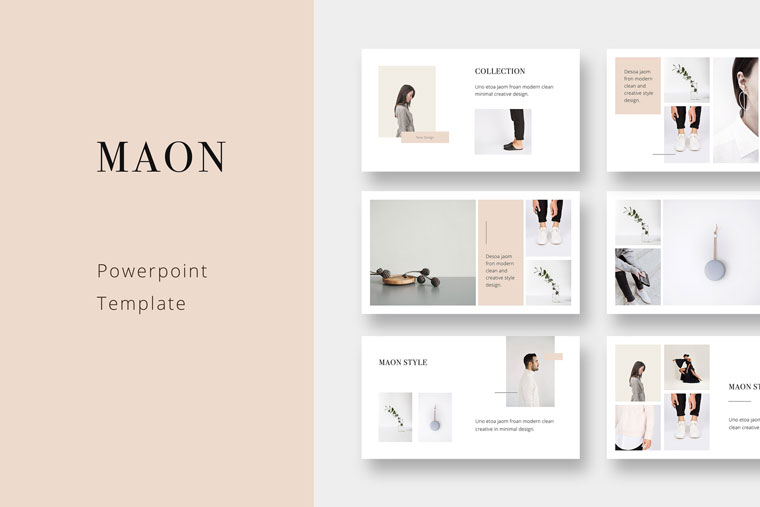 MAON - Powerpoint Template PowerPoint Template