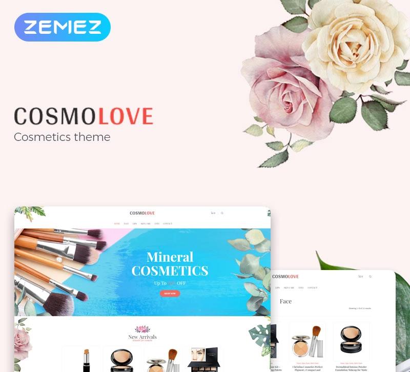 Cosmolove — Cosmetics Store Elementor WooCommerce Theme