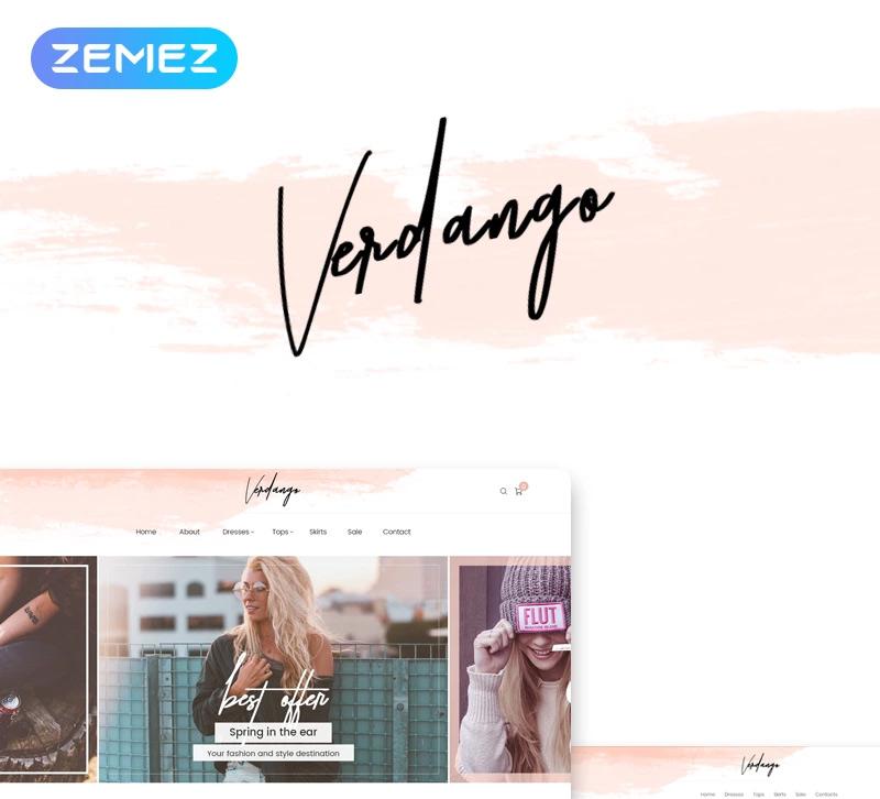 Verdango — Fashion Store Elementor WooCommerce Theme