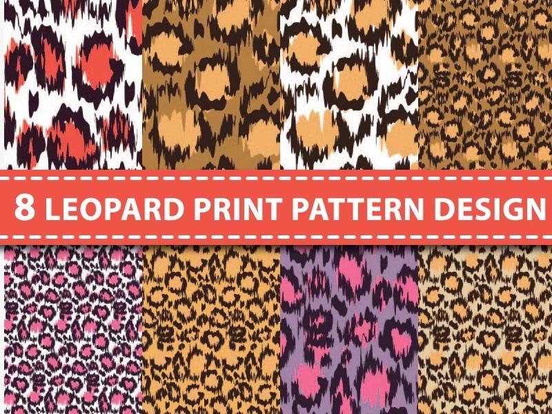 8 Leopard Pattern