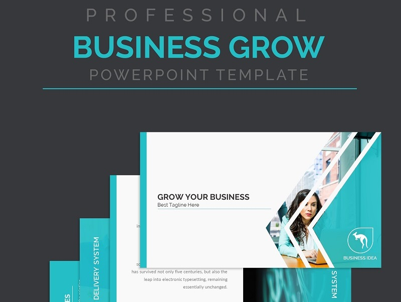 Business Growth PowerPoint Presentation Template PowerPoint Template