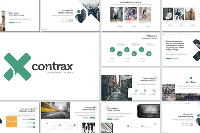 Contrax Google Slides