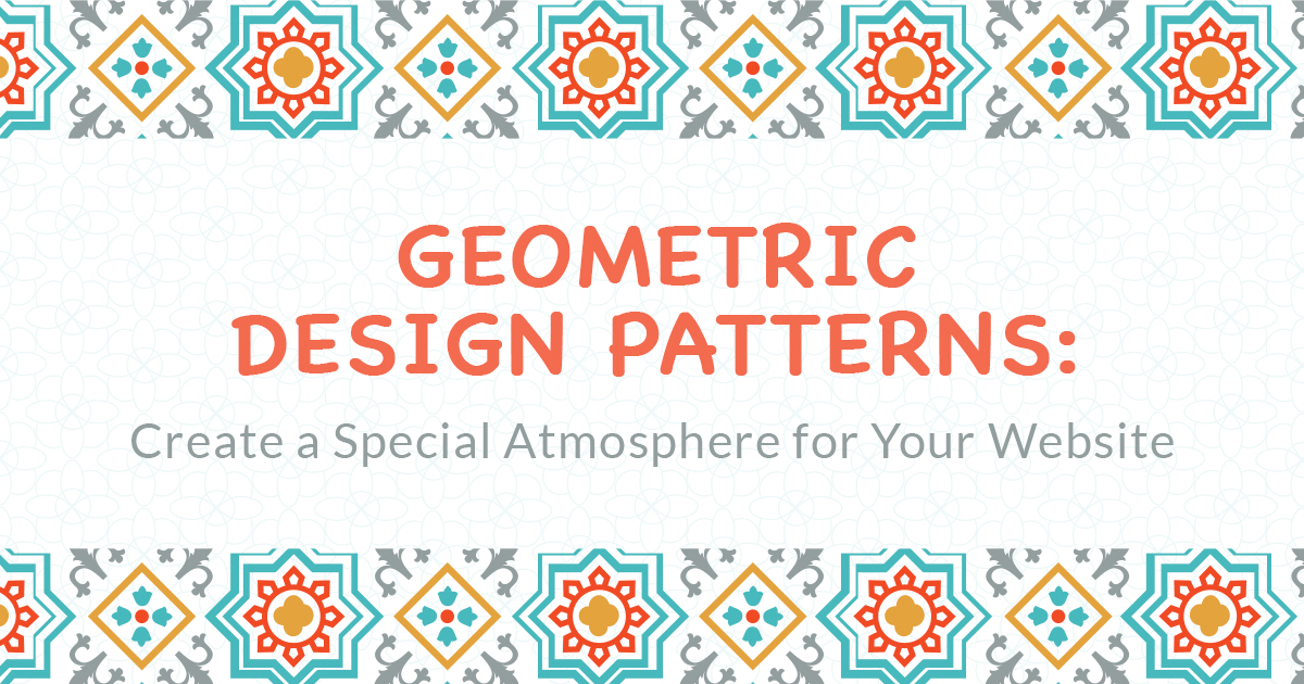 Geometric Design Patterns 2020 For A Special Atmosphere Of Your Website