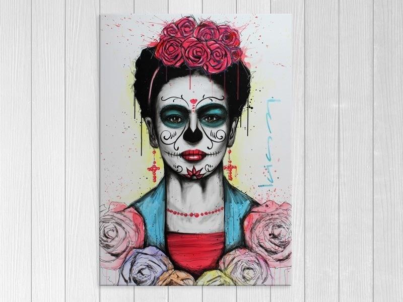 Halloween with Skull Illustration