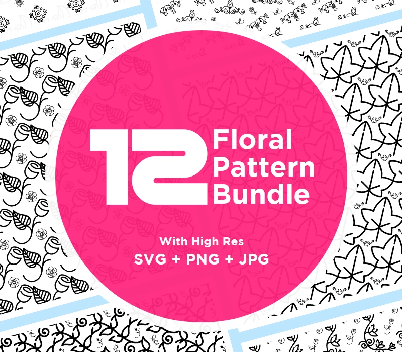 High Definition Floral Bundle Pattern