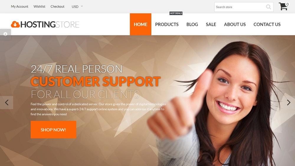 Hosting Store - Hosting & Software Shopify Theme