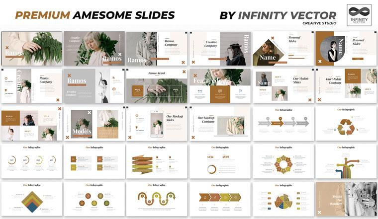Ramos Fashion Google Slides.