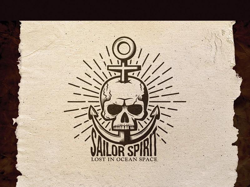 Sailor Spirit Emblem Illustration