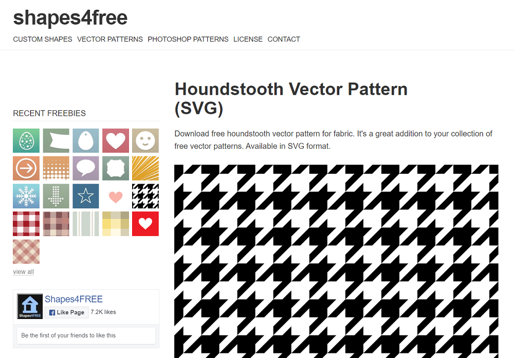 houndstooth background