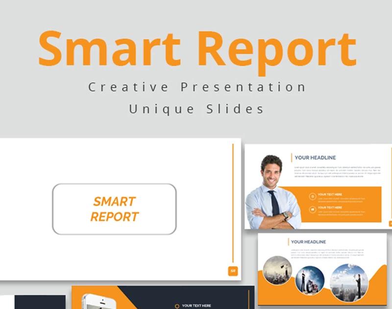Smart Report Google Slides