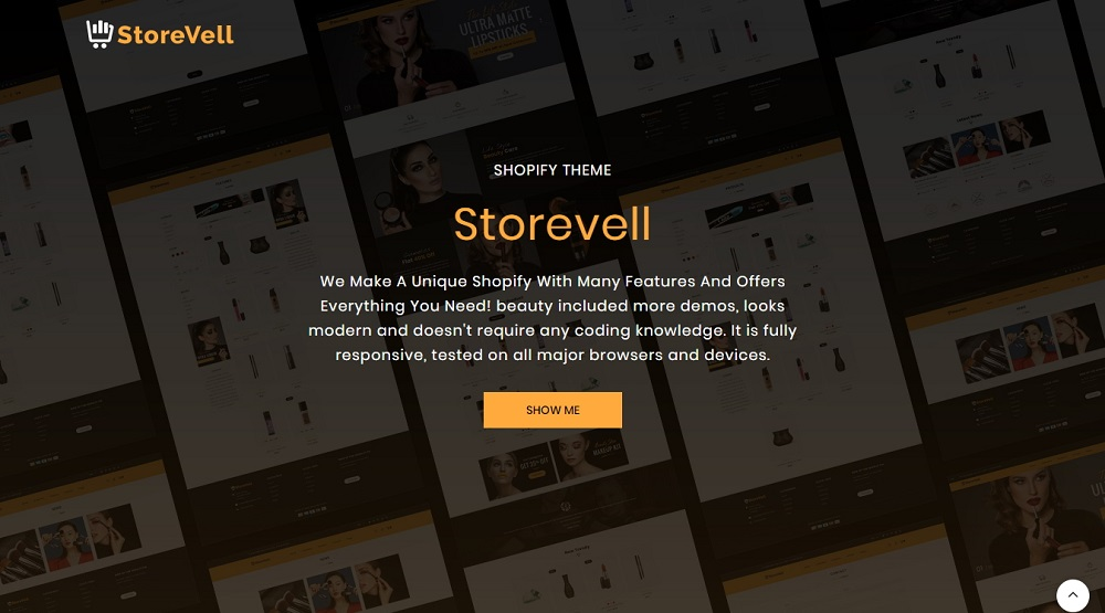 Storevell - Cosmetics Shopify Theme