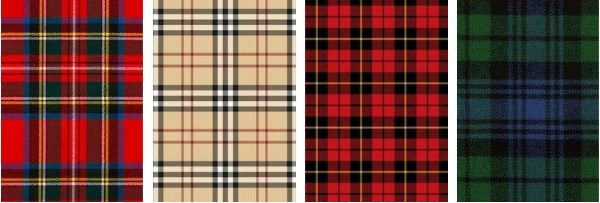 Tartan Scottish plaid