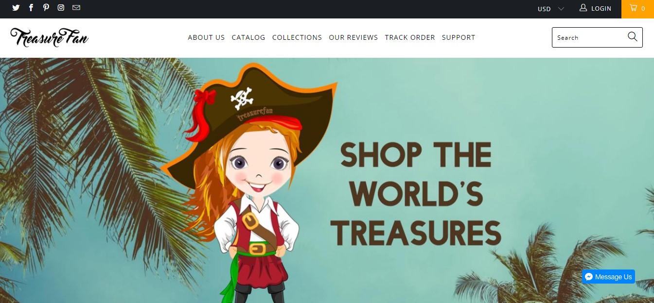 treasure fan website