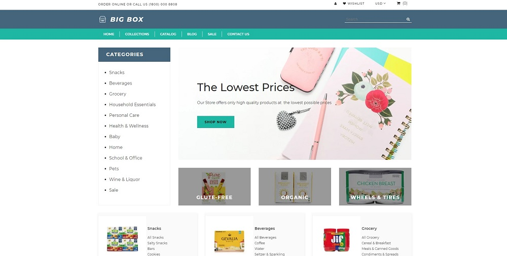 Wholesale Store Bundle Shopify Theme
