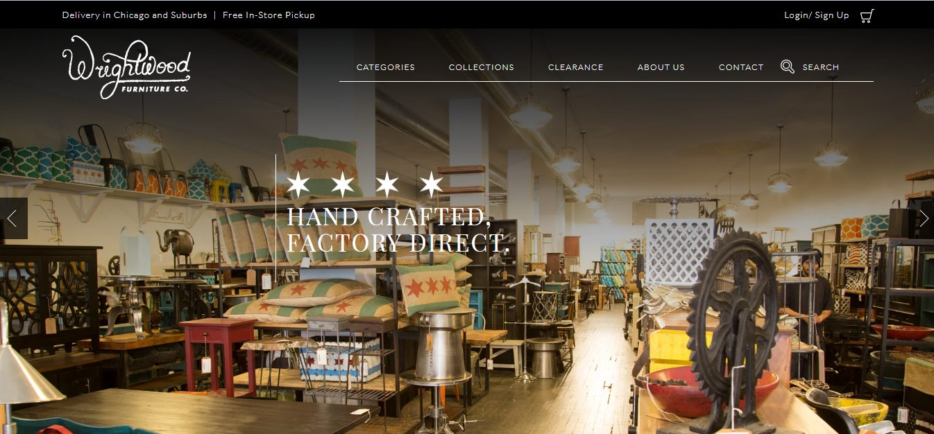 wrightwood furniture website