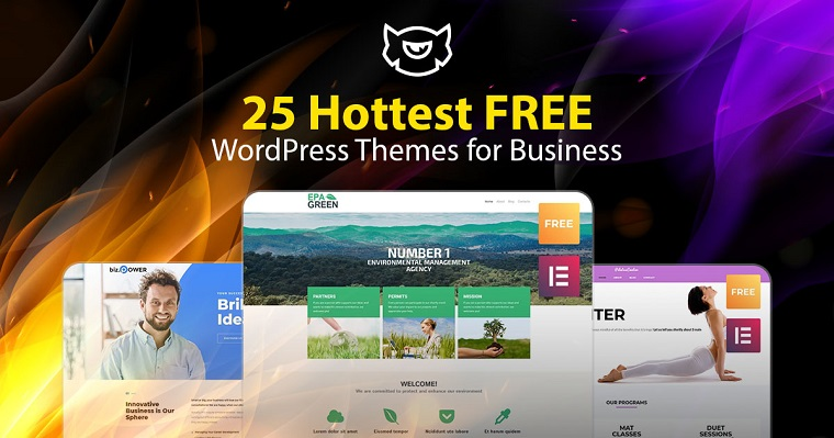 Hottest Free WordPress Themes for Business.