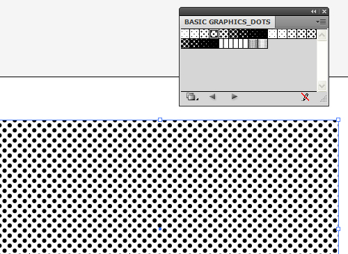 drawing dot pattern