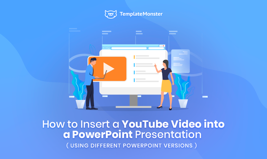 how to insert youtube video into powerpoint
