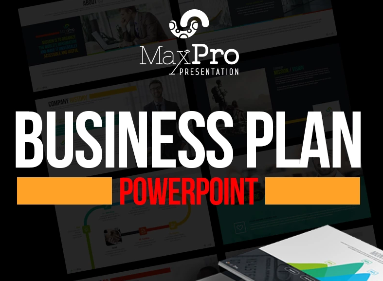 MaxPro - Business Plan PowerPoint Template