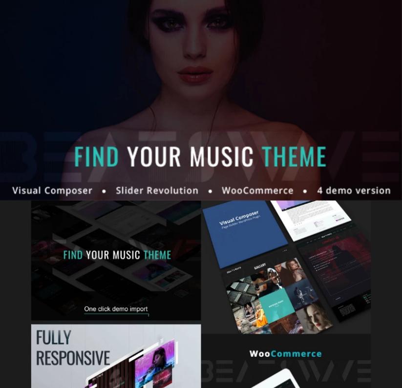 Beatswave - Creative Music & Podcasting WordPress Theme