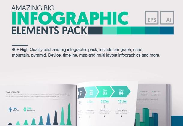 Amazing Big Bundle Infographic Elements