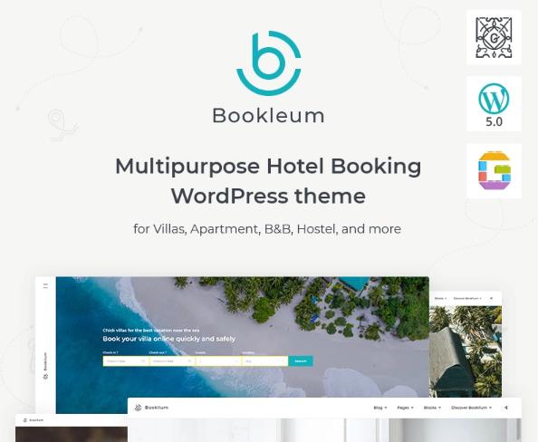 Bookleum- Rental WordPress Theme