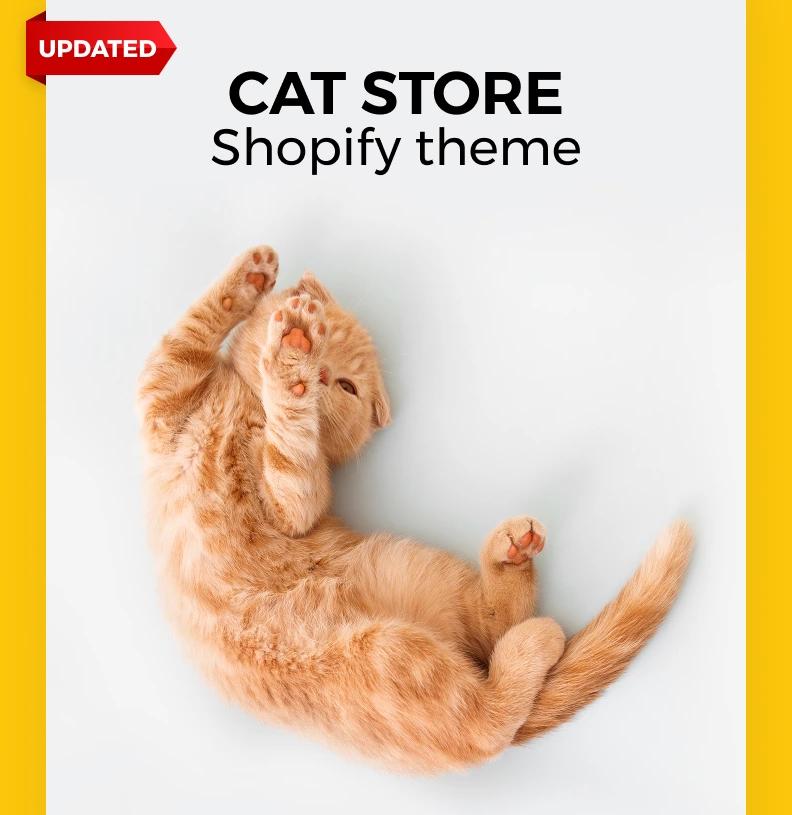 Meoow — Cute Cat Shop Shopify Theme