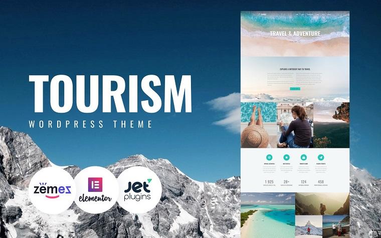 Closez - Tourism One Page Modern Elementor WordPress Theme