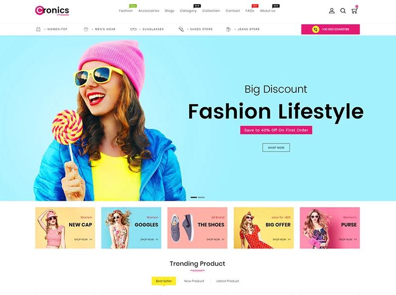 Cronics — Fashion Responsive Shopify Theme