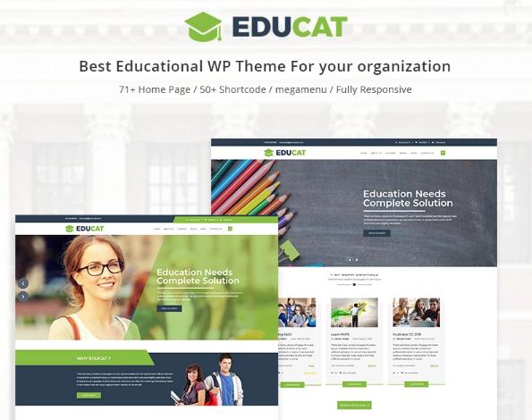 Educat- Education WordPress Theme