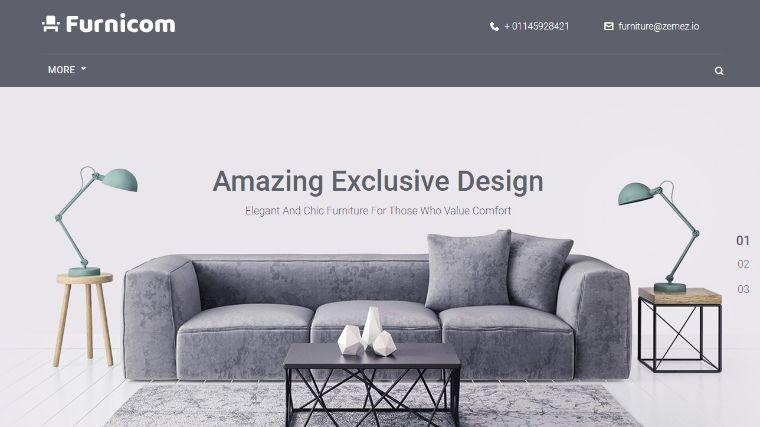 Free Furnicom - Elementor Furniture Store