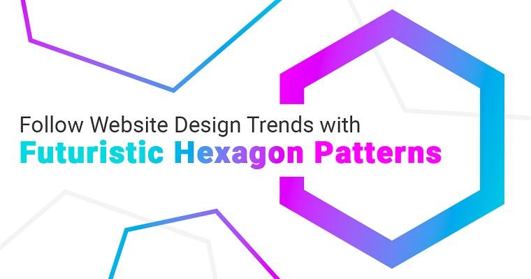 Hexagon patterns.