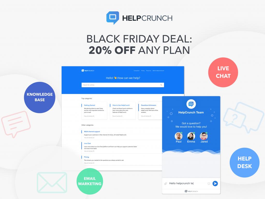 Help Crunch Black Friday Deal