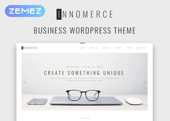 Innomerce- Business Multipurpose MinimalElementorWordPress Theme
