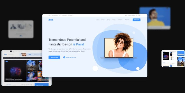 Kava WordPress Theme