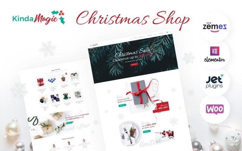 Kinda Magic - Christmas WooCommerce Theme