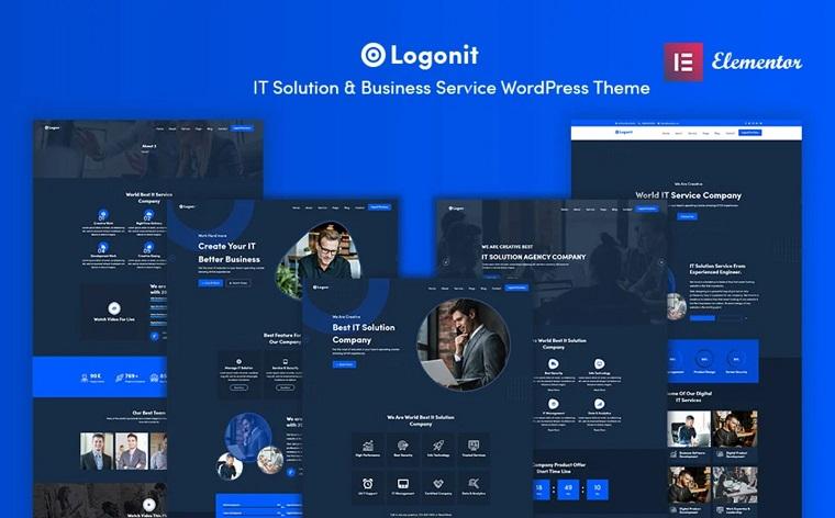 Logonit - IT Solutions & Business Service WordPress Theme.