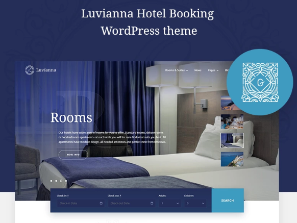 LuviannaHotel WordPress Theme