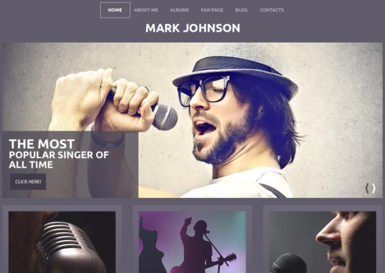 Singer - Performing Spotify WordPress Theme