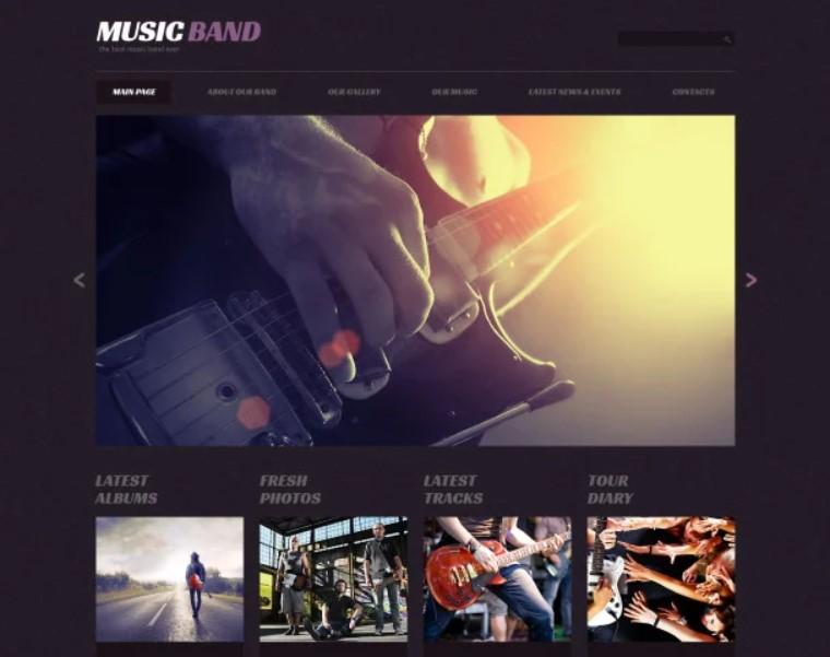 Expressive WordPress Spotify Theme