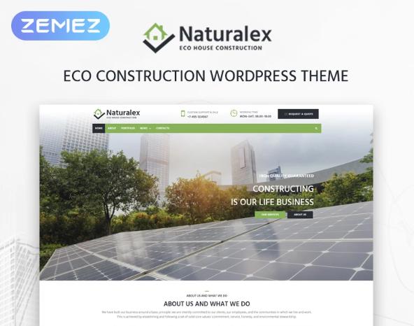 Naturalex- Construction Multipurpose ClassicElementorWordPress Theme