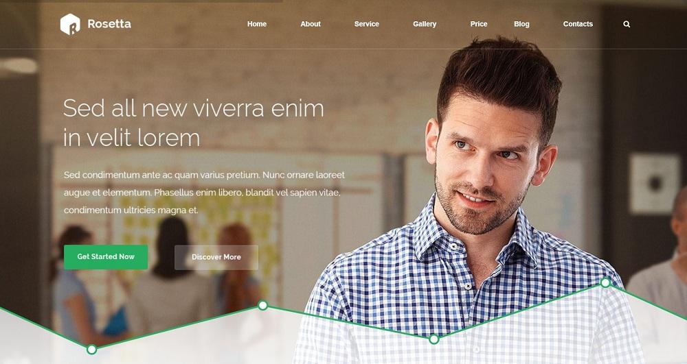 Rosetta - Creative WordPress Theme
