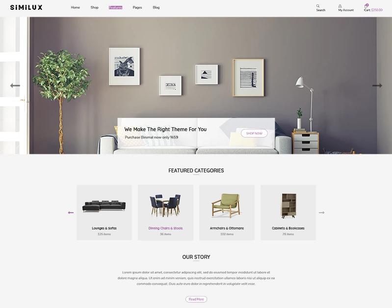 Similux — Minimal Shopify Theme