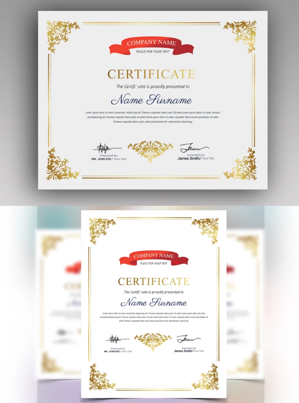 Certificate Of Authenticity Art Template from www.templatemonster.com