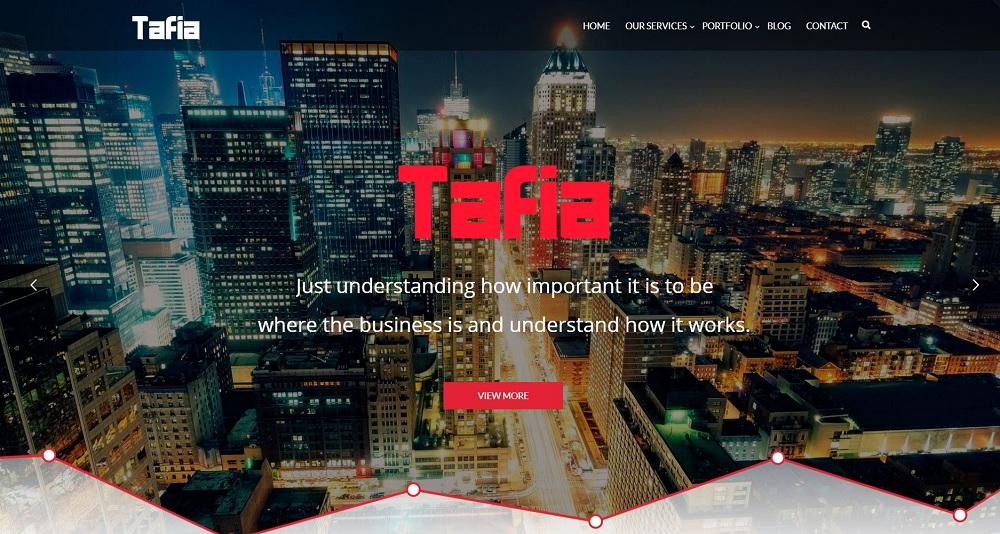 Tafia - Business WordPress Theme