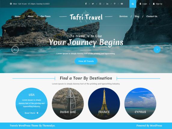 tafri-travel-free-wp-theme