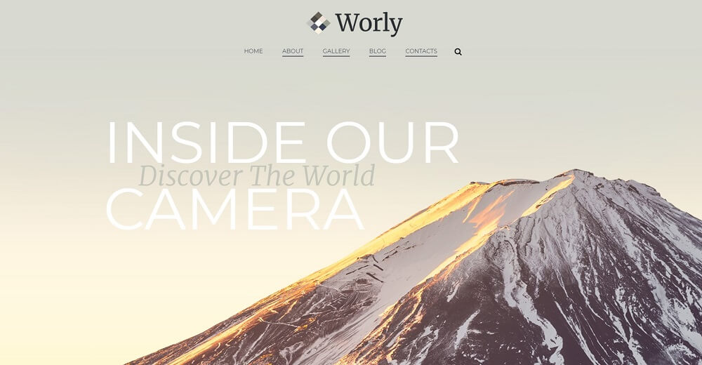 Worly - Photography Multipurpose Modern Elementor WordPress Theme.